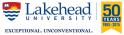 Lakehead 50 Years Logo